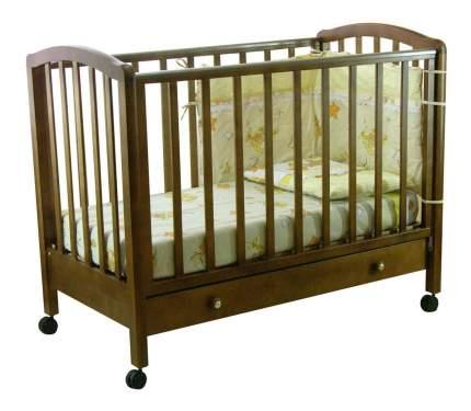 Кровать Тополь Фея 600 темный мед