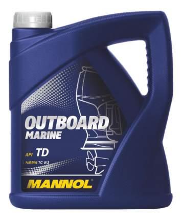 Моторное масло Mannol OUTBOARD MARINE 4 л. для лодочных моторов с водяным охлаждением