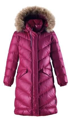 Пальто Reima пуховое для девочки Satu малиновое 152 размер