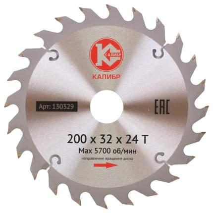 Пильный диск Калибр 200х32х24z 272