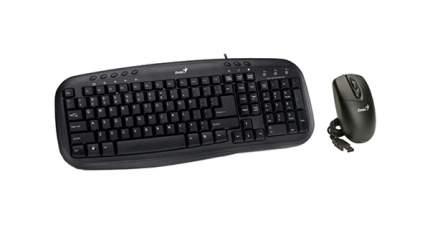 Комплект клавиатура и мышь Genius KM-210