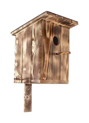 Скворечник Дарэлл деревянный, коричневый, 20 х 23 х 28 см