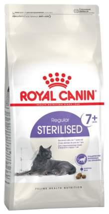 Сухой корм для кошек ROYAL CANIN Regular Sterilised 7+, для пожилых стерилизованных, 0,4кг