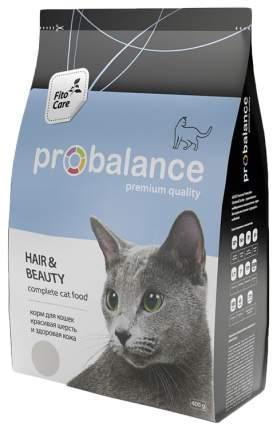 Сухой корм для кошек ProBalance Hair&Beauty, для красивой шерсти, 0,4кг