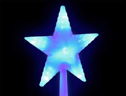 Верхушка для ели Snowhouse Звезда 22 см синяя