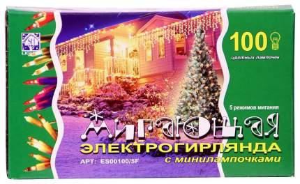Гирлянда электрическая Snowhouse ES00100/5F Разноцветный