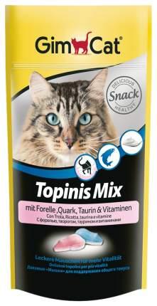 Лакомство для кошек Gimcat Мышки МИКС с форелью, творогом, таурином 40 г 418421