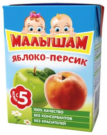 Нектар Малышам Яблоко и персик с 5 мес 200 мл