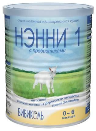 Смесь на козьем молоке Бибиколь Нэнни 1 с пребиотиками (от 0 до 6 мес.) 400 г