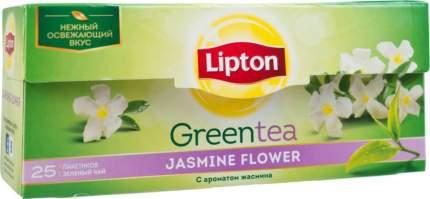 Чай зеленый Lipton jasmine flower 25 пакетиков