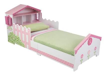 Кровать KidKraft Кукольный домик с полочками