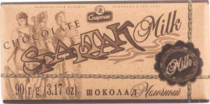 Шоколад Спартак молочный 90 г