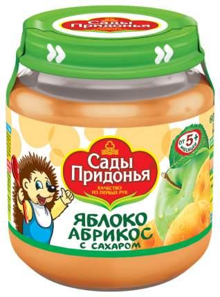Пюре фруктовое Сады Придонья Яблоко-абрикос с 5 мес 120 гр