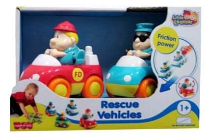 Спасательные машинки: пожарная+скорая помощь Happy Kid Toy 221G