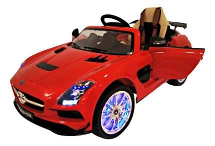 Электромобиль Mercedes-Benz SLS VIP красный RIVERTOYS