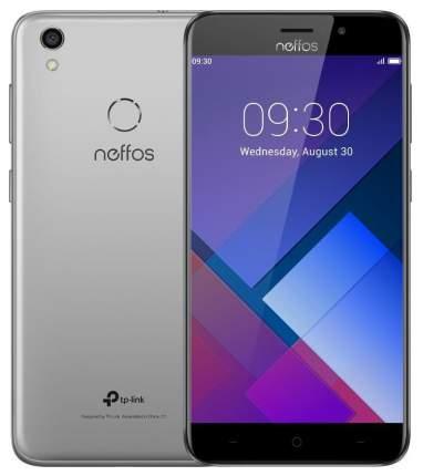 Смартфон Neffos C7 Cloudy 16Gb Grey