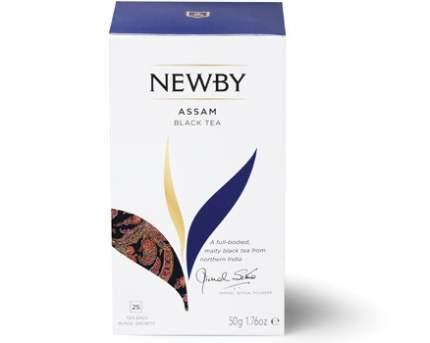 Чай черный Newby assam 25 пакетиков
