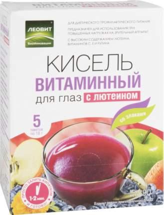 Кисель витаминный Леовит для глаз с лютеином 90 г