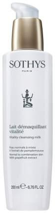 Молочко для лица Sothys Vitality Cleansing Milk 200 мл