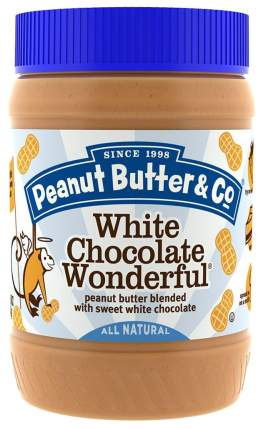 Арахисовая паста Peanut Butter&Co 454 г White Chocolate Wonder шоколад