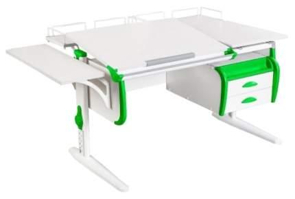 Парта Дэми White Double СУТ-25-05 Белый/Зеленый