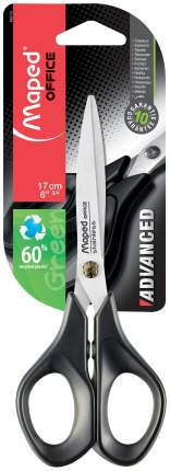 Ножницы канцелярские Maped 496110 3 Черный