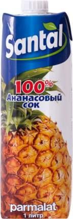 Сок Santal ананасовый  1 л