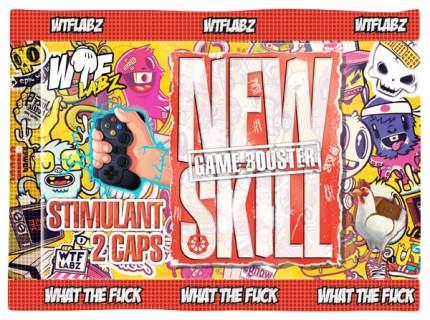 Предтренировочный комплекс WTF Labz New Skill 2 капс.