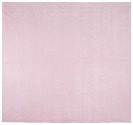 Одеяло детское Крошкин дом Бристоль Ажур вязаный сиреневый 90x90