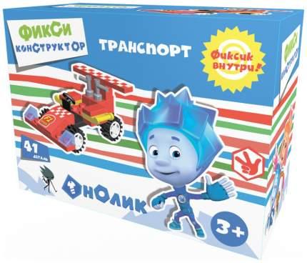 Конструктор пластиковый Город игр Фиксики Транспорт Формула 1 красная GI-6266