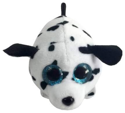 Мягкая игрушка ABtoys Долматинец белый с черными пятнами, 10 см