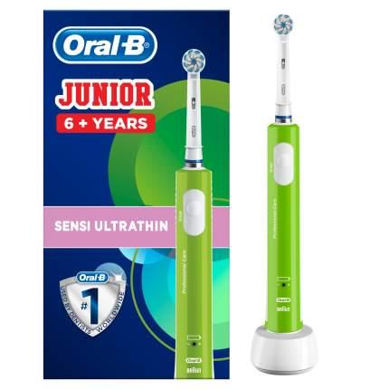 Зубная щетка электрическая Braun Oral-B Junior Green D16.513.1