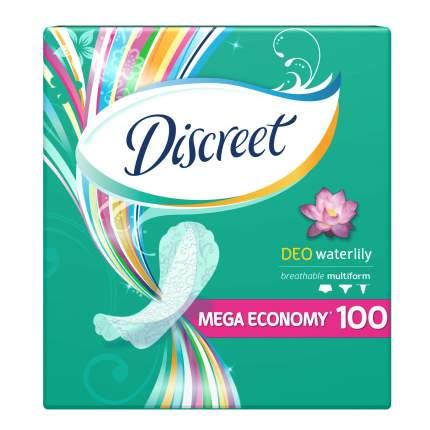 Прокладки Discreet ежедневные Deo Water Lily Multiform 100шт