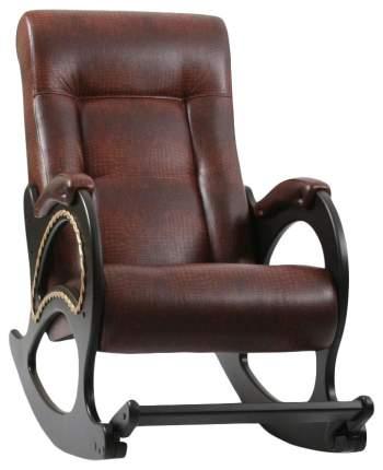 Кресло-качалка Комфорт Модель 44 KMT_2000000060859, коричневый