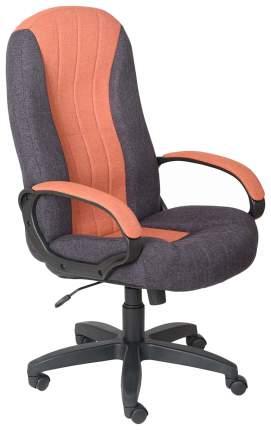Кресло руководителя OLSS HOME ГАРМОНИЯ CH 685 Оранжевое/черно-фиолетовое