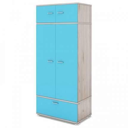 Платяной шкаф Мэрдэс Домино КС-20 MER_KS-20NSI 90x57,1x213, нельсон
