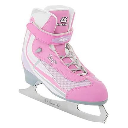 Коньки фигурные Спортивная Коллекция Tango розовые, 43