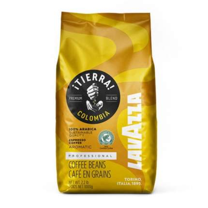 Кофе в зернах Lavazza Tierra Colombia 1 кг