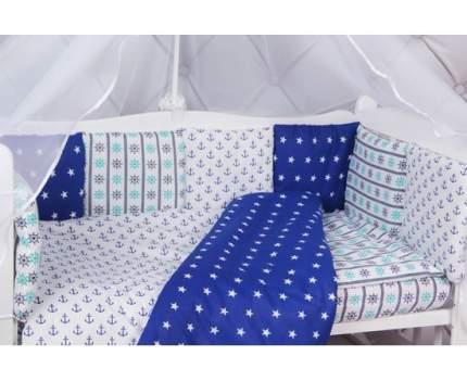 Бортик в кроватку 12 предметов (12 подушек-бортиков) AmaroBaby БРИЗ