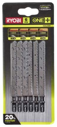 Набор пилок для лобзика Ryobi Ryobi RAK6JSBW набор пилочек для лобзика RAK6JSBW