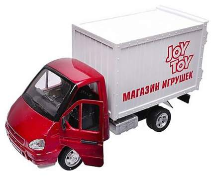 """Инерционный грузовой фургон """"Магазин игрушек"""" (свет, звук) Joy Toy"""
