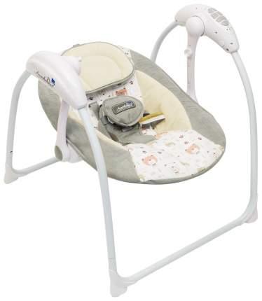 Электронные качели детские AMAROBABY Swinging Baby GRAY (серый)