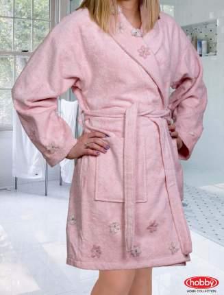 Банный халат HOBBY home collection Janet пудра M