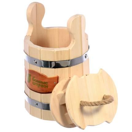 Кадка для воды и заготовки солений Банные штучки с крышкой и гнётом 3 л