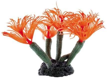 Искусственный коралл DEZZIE, Мягкий коралл, пластик, красный, 19х11х15 см