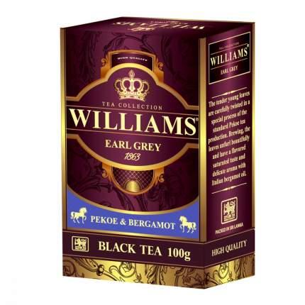 Чай Williams Earl Grey черный с ароматом бергамота 100 г