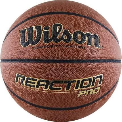 Баскетбольный мяч Wilson Reaction PRO №7 brown