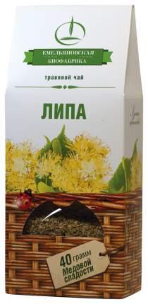 Напиток чайный Емельяновская Биофабрика липа травяной