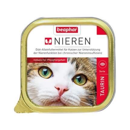 Паштет Beaphar Nieren для кошек с заболеваниями почек 100 г (100 г, Курица с таурином)