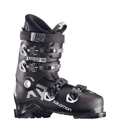 Горнолыжные ботинки Salomon X Access X70 Wide 2019, black/antracit, 25.5